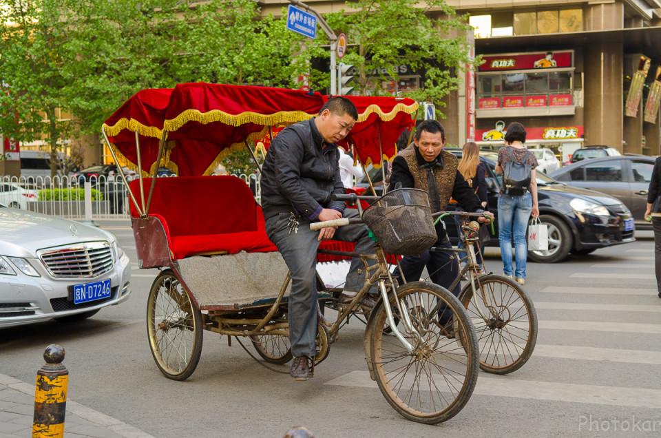 Китайские рикши.