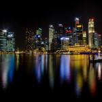 Вот он...Ночной Сингапур...