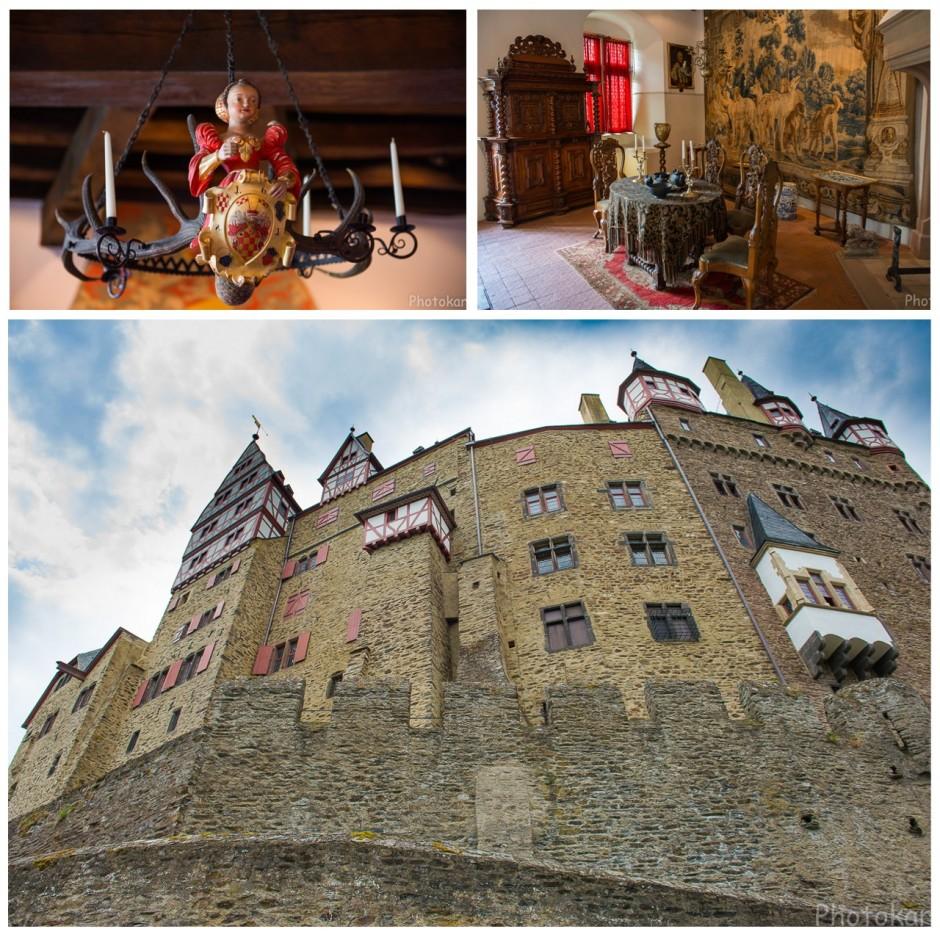 Стены замка Эльц, внутренний мир (что удалось сфотографировать...съемка там запрещена)