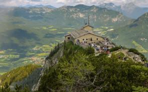 Чайный домик Гитлера на вершине горы