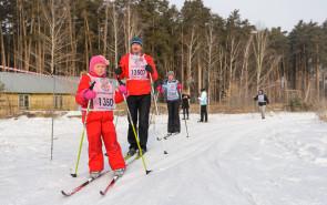 Наша лыжная команда!